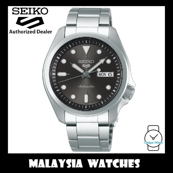 Seiko 5 Sports Superman SRPE51K1 Automatic 100M Grey Dial Stainless Steel Bracelet Gents Watch Malaysia