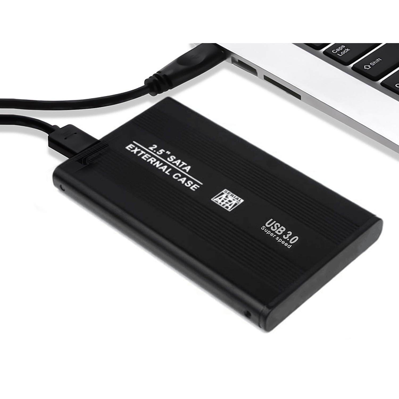 USB 3.0 High Speed Aluminum External Hard Drive Enclosure Storage Box Case for 2.5inch Serial Port 9.5mm SATA SSD HDD HD