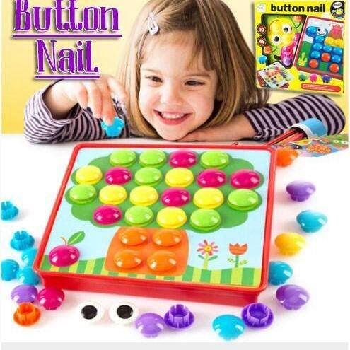 Kids Early Learning Button Nail By Osh Baby Collection.
