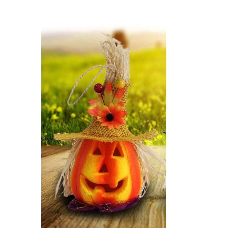 ĐÈN LED Bí Ngô Đèn Bù Nhìn Đảng Đạo Cụ Halloween KTV Thanh Trang Trí Đèn Ngủ Halloween