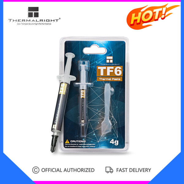 Thermalright TF6 12.5 W/m.k high-end thermal grease trouble-free performance non-conductive long service life with scraper Malaysia