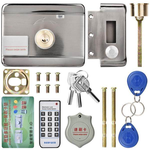 Khóa Cửa Điện Tử Thông Minh, Mở Dễ Dàng Bằng Hệ Thống Điều Khiển Từ Xa Hoặc Thẻ ID Hai Đầu 12V