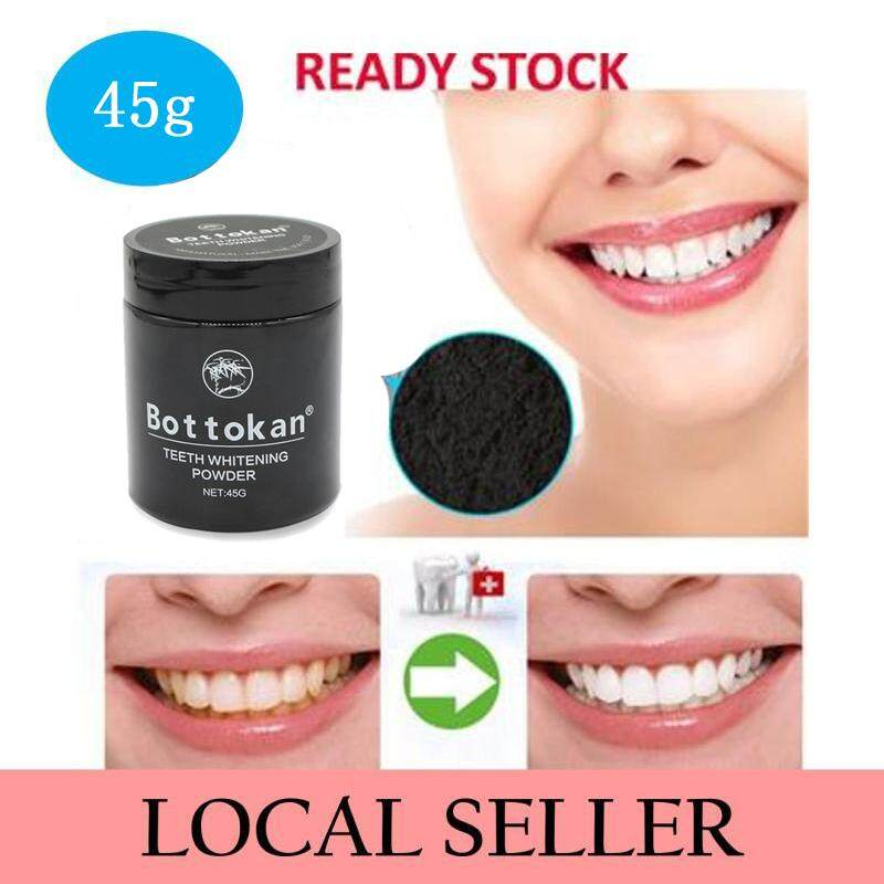 [100% ORIGINAL]Tooth Teeth Whitening 45/jar Effective Professional Natural Activated Charcoal