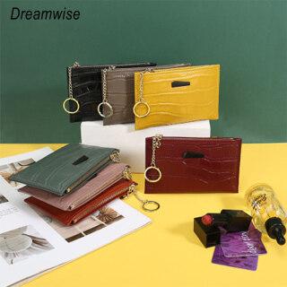 Ví Đựng Tiền Mini Dreamwise Cho Nữ, Ví Da Bò Thật Kiểu Hàn Quốc Cho Nữ, Ví Đựng Tiền Xu Và Nhiều Thẻ thumbnail