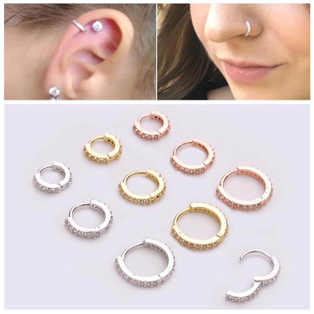 7PCS//Set Glow In The Dark Luminous Barbell Tongue Rings Body Piercing Jewelry JB