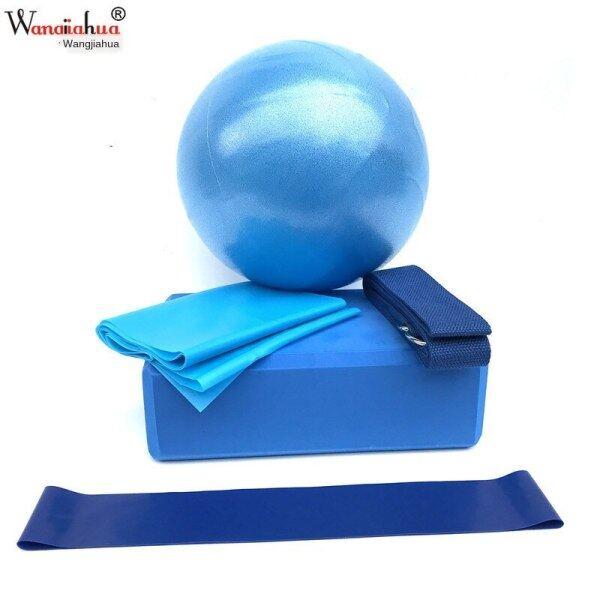 Bảng giá Bóng Tập Yoga Bộ Đồ Năm Mảnh Khối Tập Yoga  Đai Kéo Giãn Cao Su Kéo Khăn Kháng Vòng Thiết Bị Tập Thể Dục Yoga