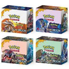 36 tăng áp Gói Hộp Mặt Trăng Mặt Trời MEGA EX GX Flash Sáng Bóng Pikachu Snorlax Charmander Trading Card Game TCG