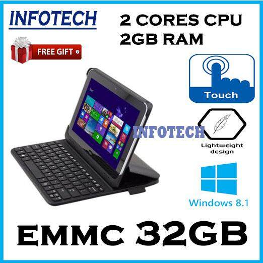 HP ElitePad 900 G1~Intel Atom Z2760~2Gb~32Gb Memory~Windows 8 Laptop Notebook ( Free Gift ~ Pouch Case , Keyboard Docking , Mouse ) Malaysia