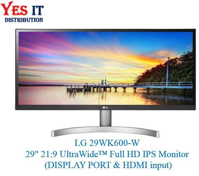 LG 29WK600-W 29inch 21:9 UltraWide™ Full HD IPS Monitor (HDMI, DISPLAY PORT input) Malaysia