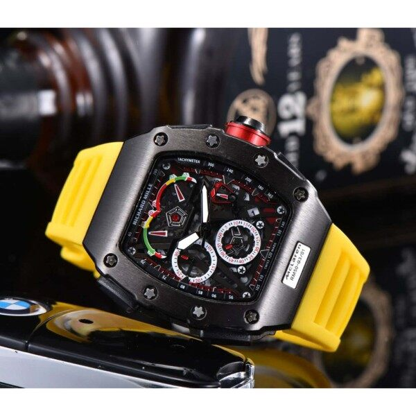 Richard miller - equipped with fully automatic mechanical movement mens watch, high-quality Malaysia
