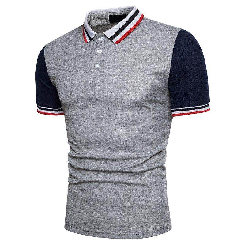 Men Polo Shirt Brand Summer Jerseys Men Tops Casual Classic Stand Collar  Male cotton breathable Polo Shirt