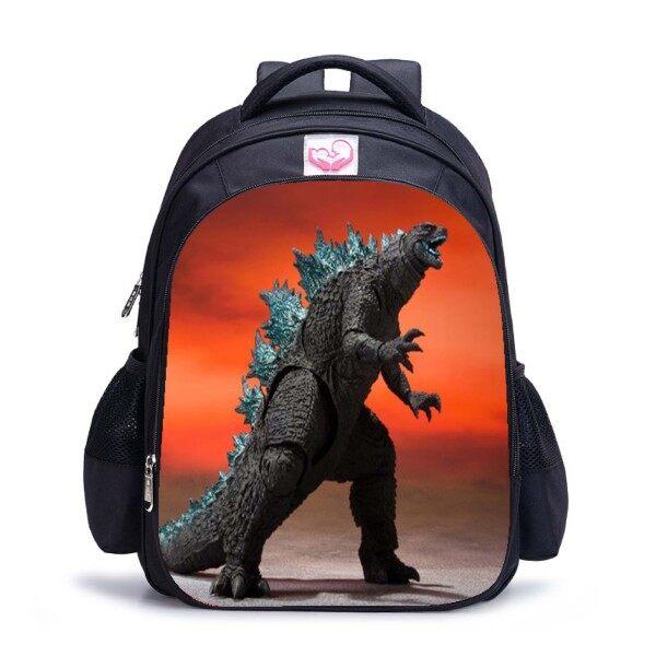 Ba Lô Túi Godzilla Vs King Kong Túi King Ghidorah Nhẹ Cho Trẻ Em, Bé Trai Bé Gái Gói Túi Đựng Quái Vật Godzilla Quà Sinh Nhật Cho Trẻ Em Từ 5-10 Tuổi