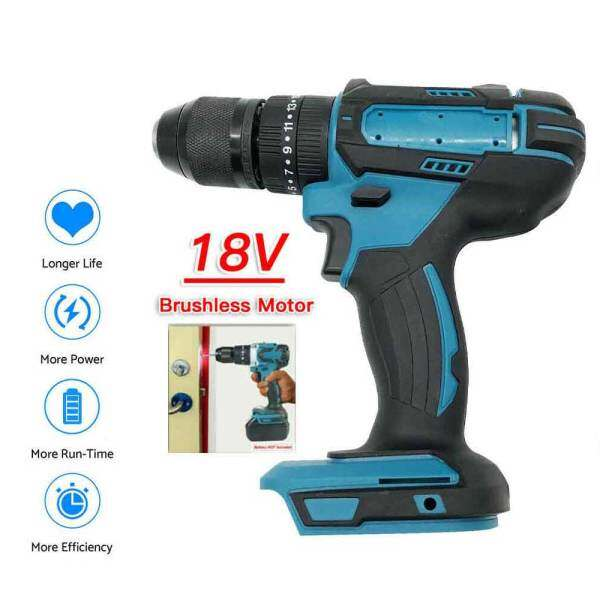 For Makita Electric Brushless Cordless Drill Electric Combi Impact Driver Screwdriver 18V LXT- Body