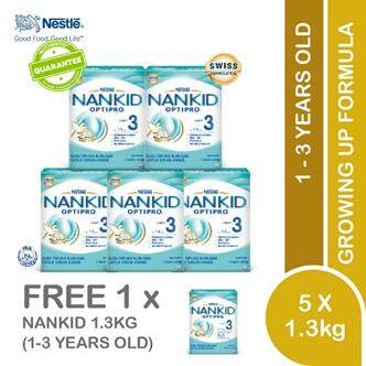 Nankid Optipro3 (2x650g)x6 By Lazada Retail Nankid.