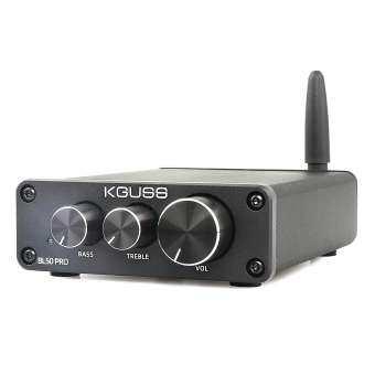 KGUSS BL50PRO TPA3116D2 QCC3003 Bluetooth 5.0 MINI เครื่องขยายเสียงดิจิตอลระบบเสียง 50W + 50W