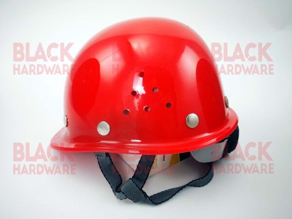 Fiberglass Light Weight Industrial Construction Site Safety Head Impact Protect Breathable Ratchet Hardness Helmet Hat