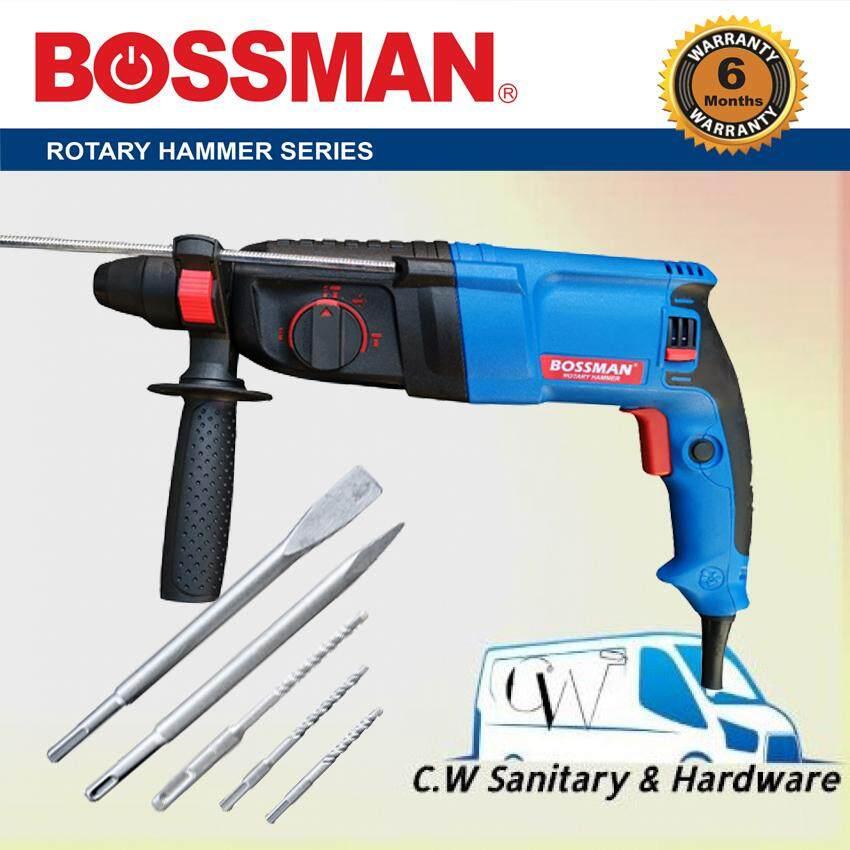 Bossman Rotary Hammer Drill 900w BGBH226