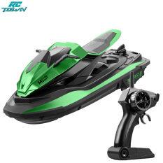 RCTOWN JJRC S9 Mô hình thuyền đua đồ chơi điều khiển từ xa động cơ kép thiết kế thái công học hỗ trợ 2.4G tỉ lệ 1:14 – INTL