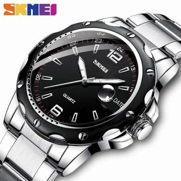 SKMEI Men Fashion Watch Sports Quartz Stainless Steel Date Waterproof Casual Watch For Men Man 992 Malaysia
