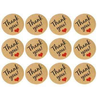 120 PCS/10 แผ่นขอบคุณป้ายสติกเกอร์ซีลหัตถกรรมงานแต่งงานตัวอักษรรักหัวใจการ์ดของขวัญ Scrapbooking-