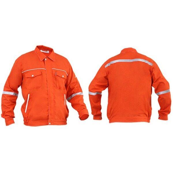 SHAMARR Pre Shrunk Safety Working Jacket (ORANGE)