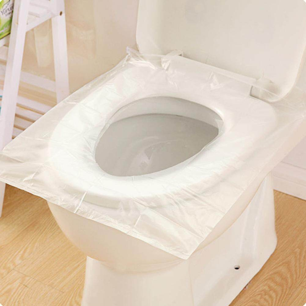 Awesome Beautiful Home Furnishing 50Pcs Disposable Travel Safety Pe Plastic Toilet Seat Cover Mat Cushion Maternity Waterproof Antibacterial Gmtry Best Dining Table And Chair Ideas Images Gmtryco
