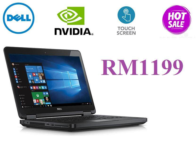 Dell Latitude E5440 Touch i5-4310u , 8GB DDR3L , 500GB Hard Disk , 14Touch Screen Malaysia