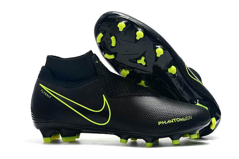 44c4e3ec2 Original Men s Phantom Vision Elite DF FG Dynamic Fit Soccer Shoes High  Ankle Football Boots Firm