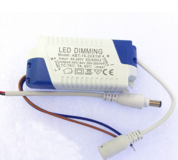 5-24x1w Dimmable Led Driver 300ma 3w 4w 5w 7w 9w 10w 15w 18w 20w 21w 24w Power Supply Ac 110v 220v For Led Ceiling Lights Bulb