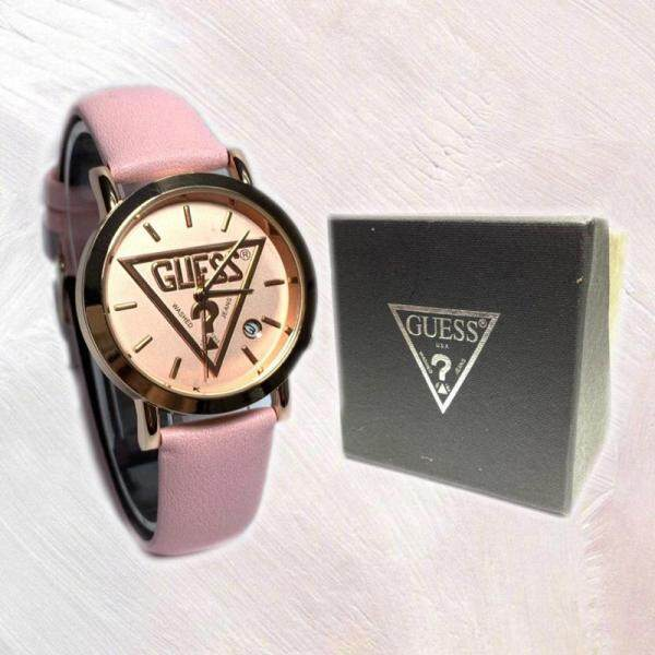 [Ready Stock] _Guess Watch Casual Watch Ladies One Set with Box Analogue Display Malaysia