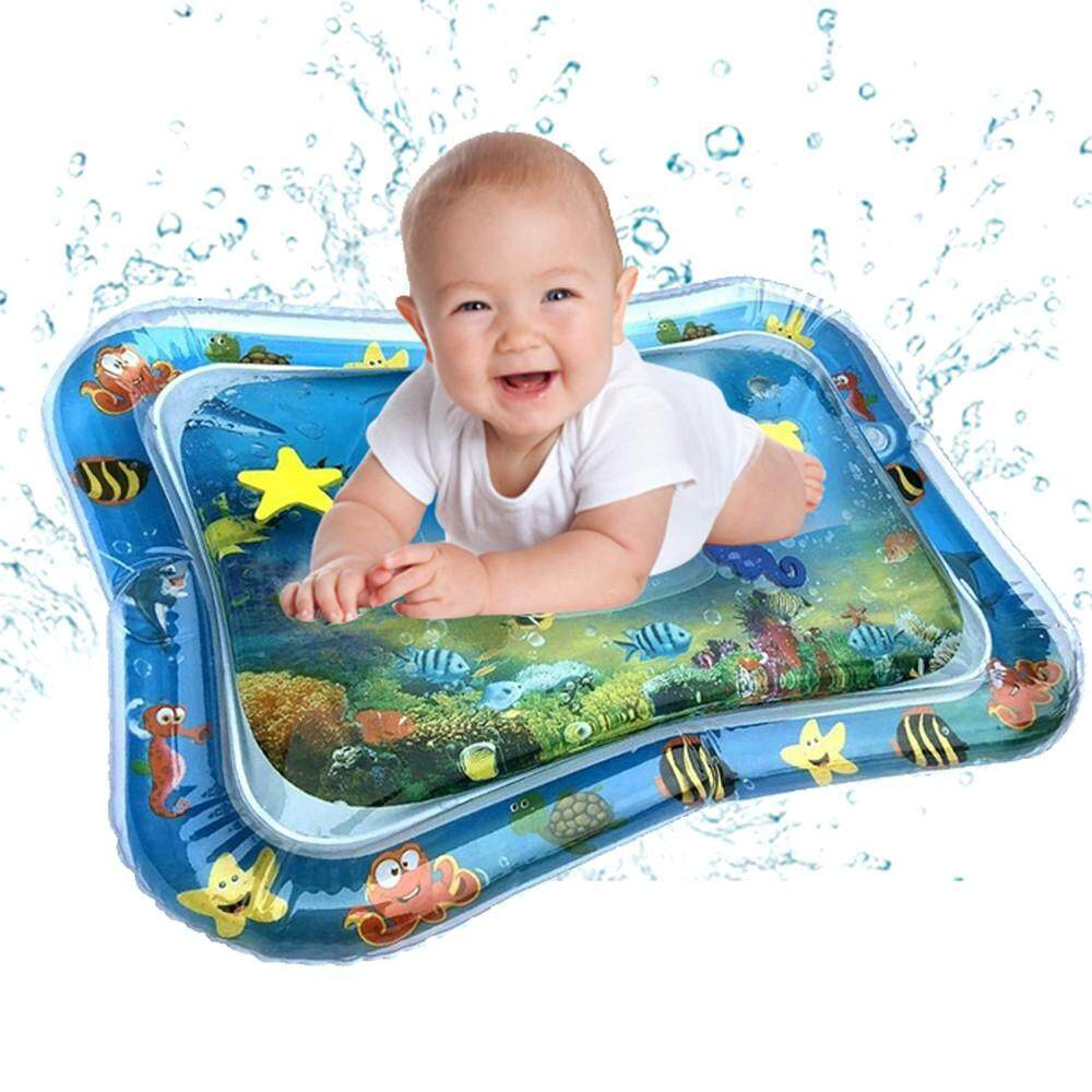 Fashion Inflatable Cute Baby Water Mat Fun Activity Play Center For Children & Infants By Hookc Shop.