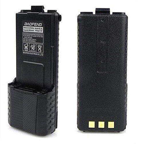 Baofeng UV 5R 5RE Extended Battery BL-5L 3800mah Extend Walkie talkie Malaysia