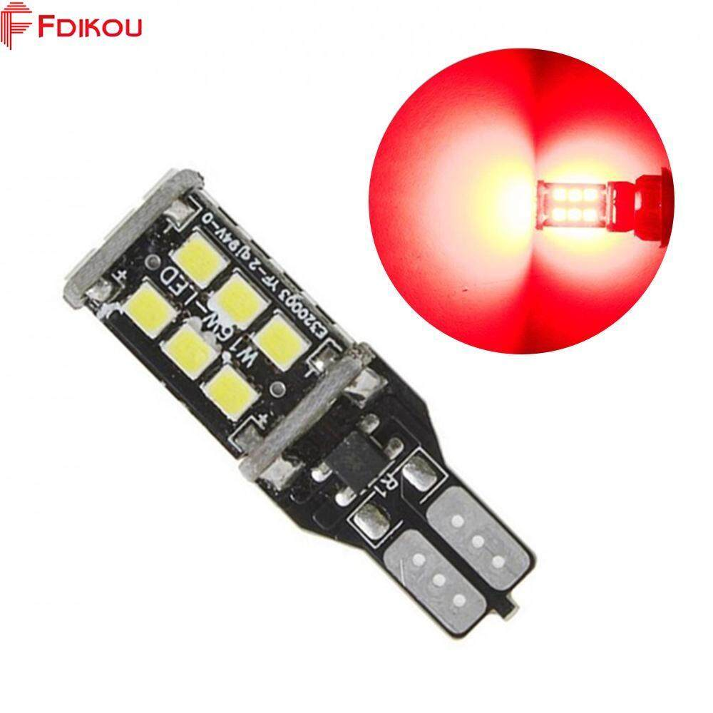 Fdikou 2pcs/set Car Replacement Tools Car Led Bulb 15smd 2835 T15 W16w Car Reverse Backup Turn Signal Led Light Bulb (white/red/yellow Color Optional) By Fdikou.