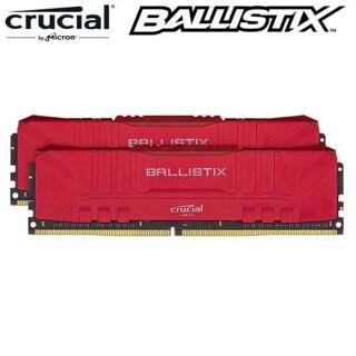 5Cgo Micron Crucial Ballistix D4 3200MHz 16GB(8G 2) Bộ Nhớ Chơi Game Để Bàn Đài Loan Đỏ thumbnail