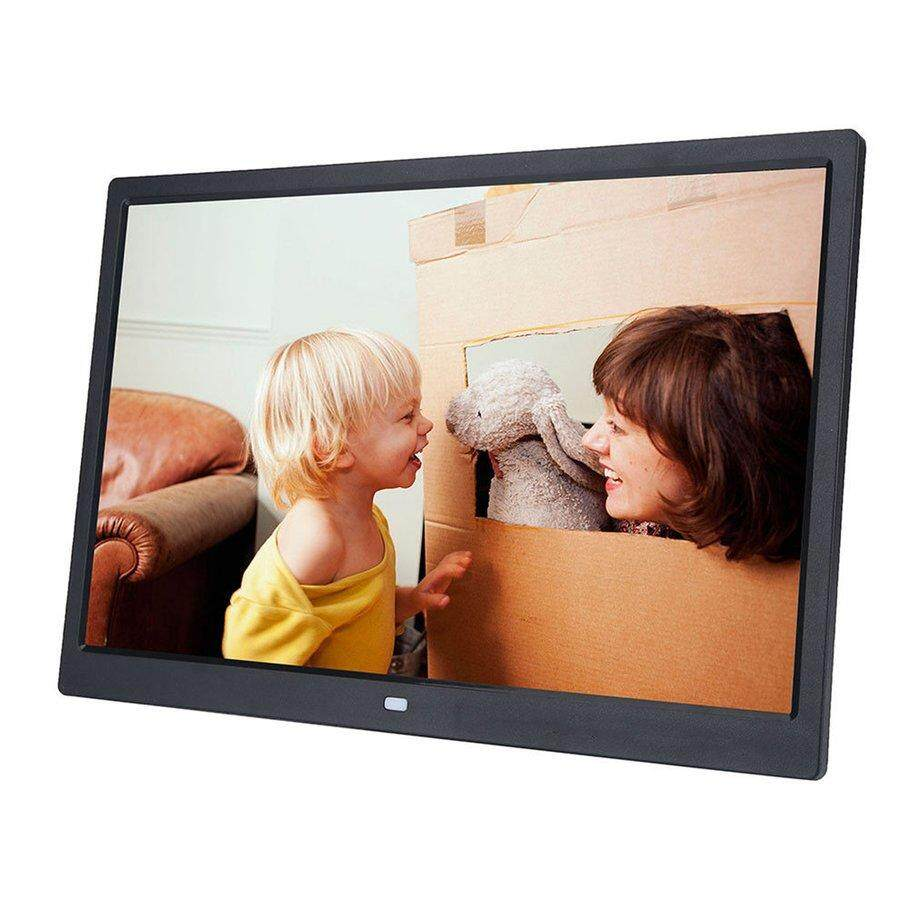 [Promotion] HD Digital Photo Frame 17 Inches Front Touch Buttons Multi-language LED Screen