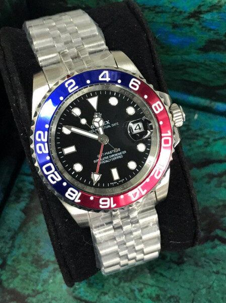 Rolexe Oyster Perpetual GMT Master Atomatic Stainless Steel Man Wrist Watch Malaysia