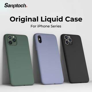 Sanptoch Mỏng Vỏ Mềm Cho Iphone 11 Pro Max X XR XS Max 8 7 6 6 S Silicone Lỏng Nguyên Bản Bìa Màu Kẹo Vỏ Bọc Đối Với iPhone X XS 11 Pro Max XR thumbnail
