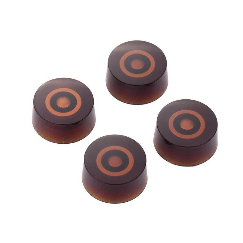 Electric Guitar Control Knobs Fit for LP Style Guitars Replacement Pack of 4PCS Volume and Tone Knobs Red with Black Number Malaysia