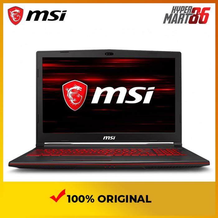 MSI GL63 9RC-088MY Gaming Notebook (15.6inch/Intel I5/8GB/256GB SSD/GTX1050 4GB) Malaysia