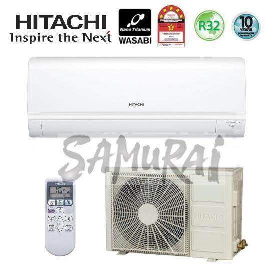HITACHI AIR COND R32 GAS DC INVERTER 1.5HP RASX13CJ/RACX13CJ