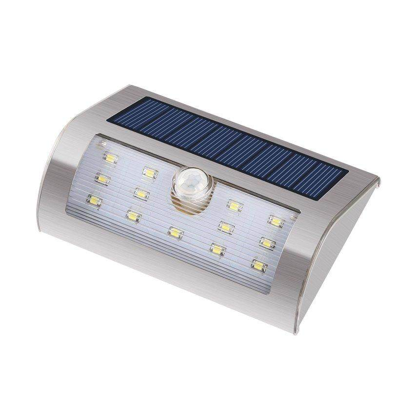 CELE Solar Lights Stainless Steel Solar Wall Lights Garden Lights Outdoor Waterproof Integrated Street Lights