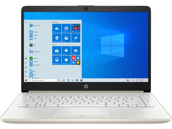 HP 14s-cf3042tu  i3-1005G1 / 4GB / 256GB SSD / Windows 10 / 14-inch Notebook - Pale Gold (Includes Microsoft Office Home & Student software) Malaysia