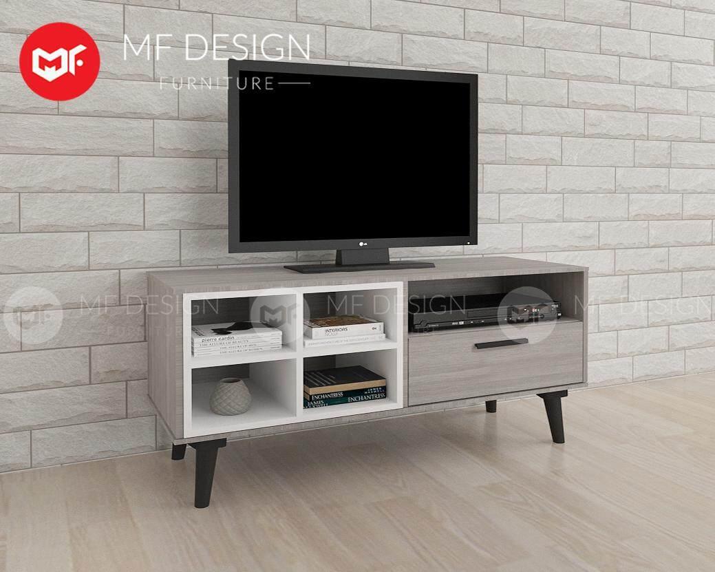 Mf Design Romeo Tv Cabinet ( 4 Feet ) ( Light Grey) By Mf Design.