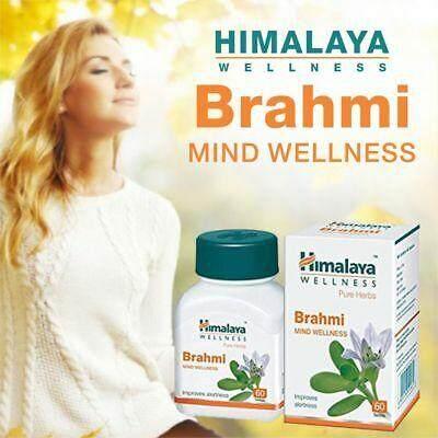 Himalaya Brahmi Tablet-60s Mind Wellness By Rayyan.