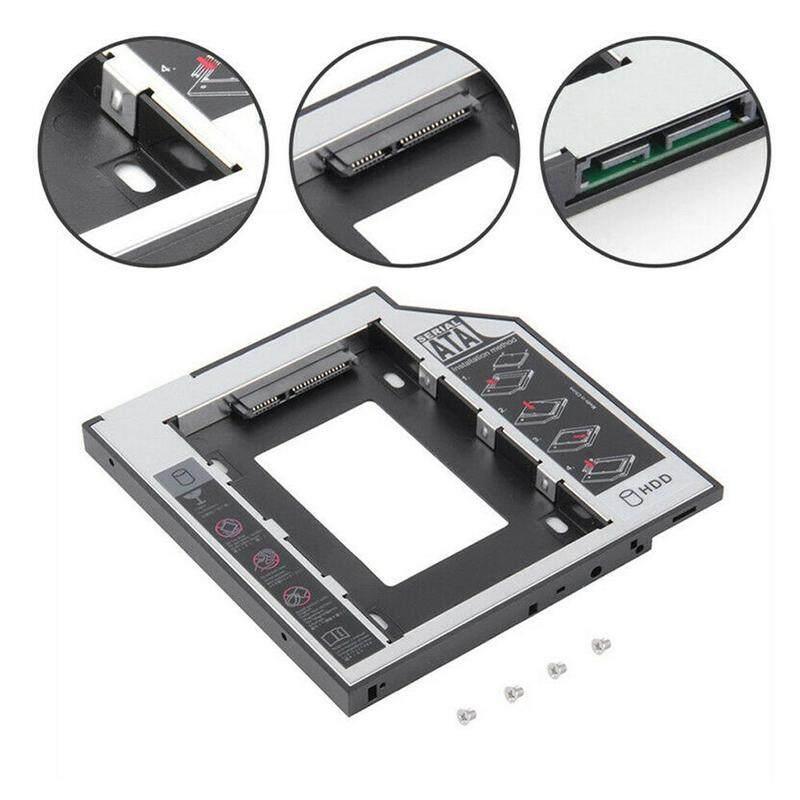 Giá 【Palm Life】 SATA 2nd HDD Đĩa Vỏ Bên Ngoài Ổ Quang Caddy Bay 9.5 Mm Laptop/ DVD-ROM Ốp Lưng SSD J7K5