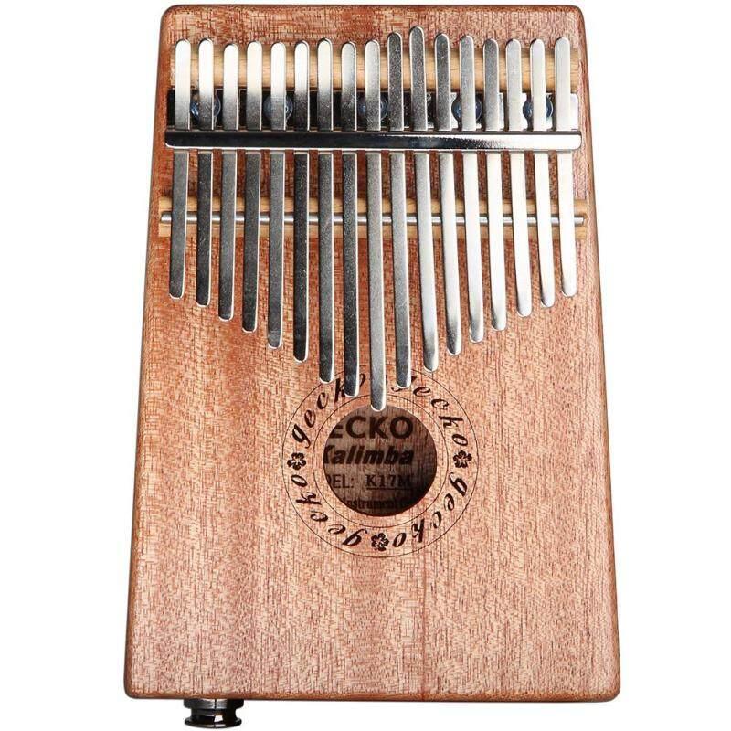 GECKO 17 Keys EQ Kalimba Thumb Piano Electric Pickup Music Craft Keyboard Malaysia