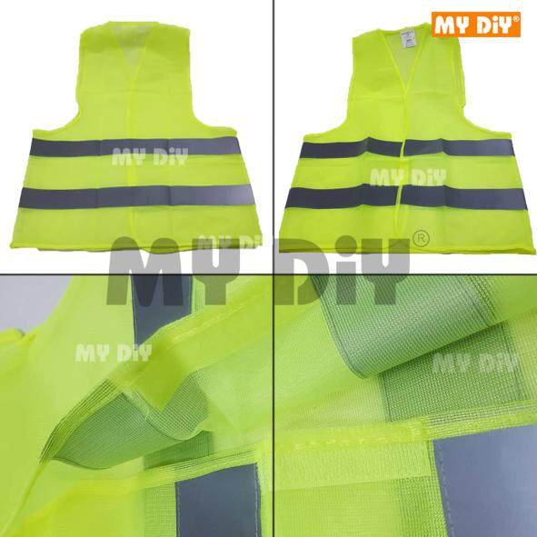 DIYHARDWARESTATION - Transparency Safety Vest Reflective Stripe / High Visibility Running, Walking Jogging, Cycling, Biking, Outdoor Reflective Safety Vest 10pcs
