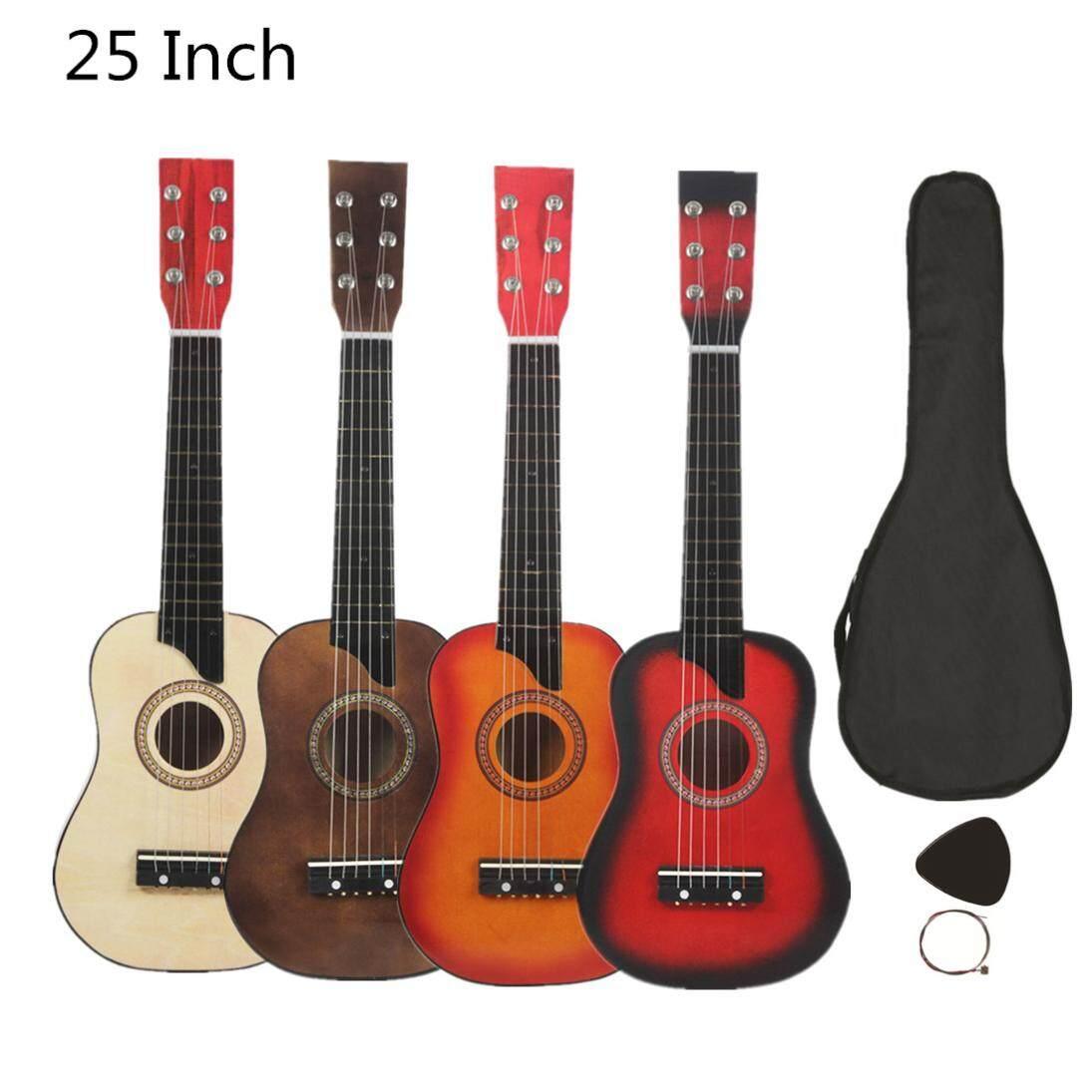 Đàn Ghi-ta Bass 25 Inch Với Túi Chọn Dây Quà Tặng Trẻ Em Và Nhạc Cụ Cho Người Mới Bắt Đầu 4 Màu Sắc Tùy Chọn