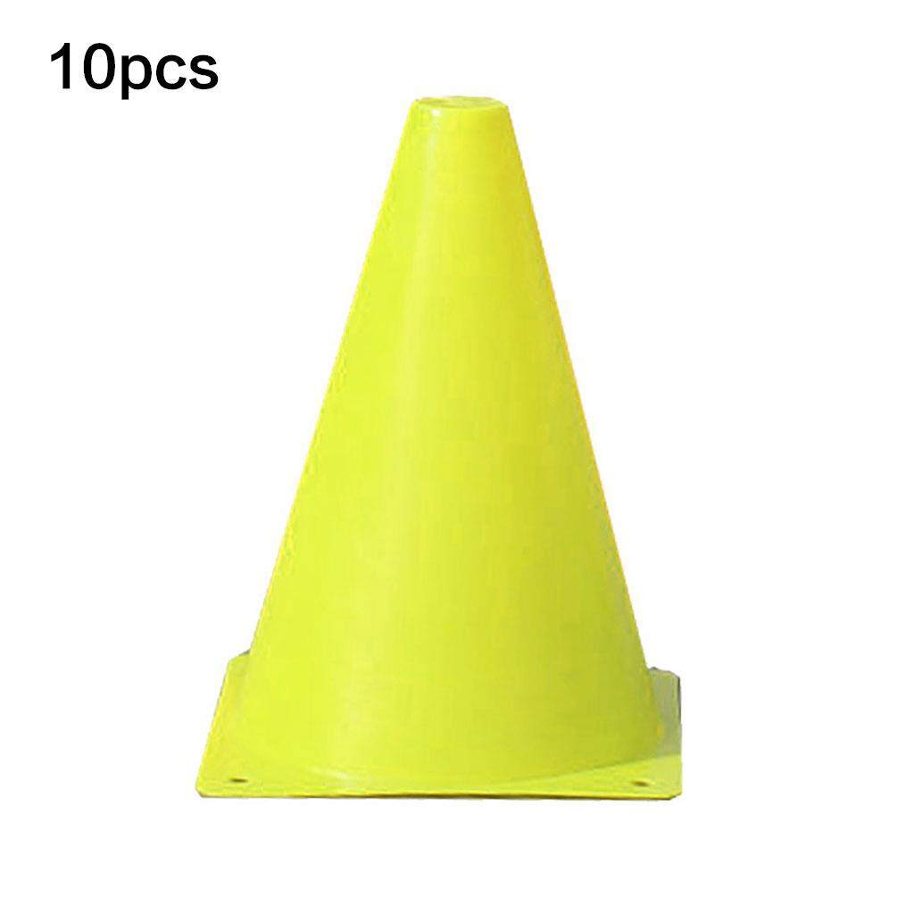 10PCS 7-Inch Football training sign obstacle marker