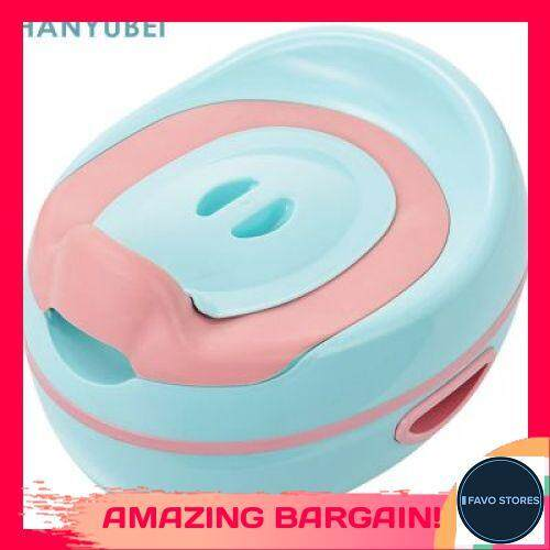[FAVOSTORES] HANYUBEI Baby Infant Potty Chair PP Child Toilet Training Seat (POWDER BLUE)
